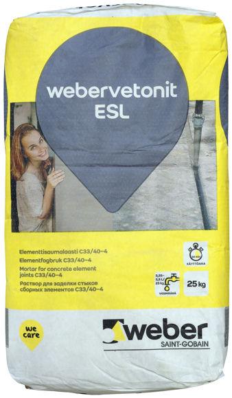 Picture of KUIVBETOON WEBER ESL 25KG
