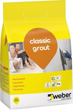 VUUGISEGU WEBER CLASSIC 16 GREY 3kg pilt