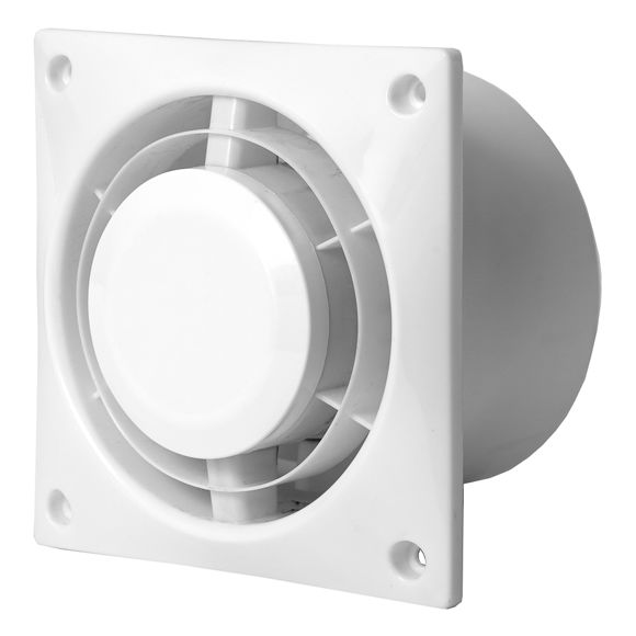 Picture of VENTILAATOR A6 L125 D125mm VALGE