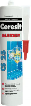 SAN.SILIKOON CERESIT CS25 03 CARRARA 280ML pilt