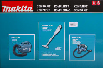 Picture of TOOL KIT MAKITA CLX236A(CL107FDWAW+CL121DZ+MP100DZ)
