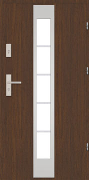 Picture of METAL EXTERIOR DOOR MASTERTHERM 55 1R 9X21 RIGHT