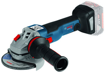 Picture of CORDLESS ANGLE GRINDER BOSCH GWS 18V-10 2X4.0AH GAL 18V-40