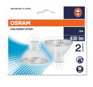 PIRN OSRAM 35W 12V 36´ 2-NE BL pilt