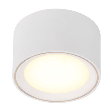Picture of CEILING LAMP FALLON 6cm 8,5W/827 LED 4-STEP WHITE 500lm