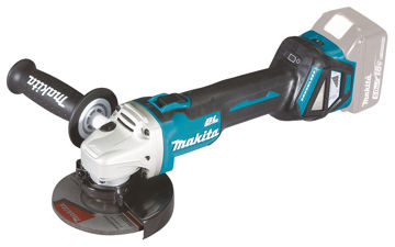 Picture of CORDLESS ANGLE GRINDER MAKITA DGA511Z 18V  D125MM WITHOUT BATTERY AND CHARGER