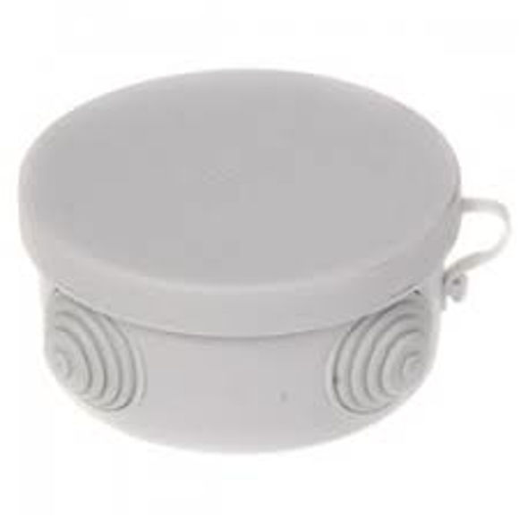 Picture of SURFACE MOUNTED BOX IP55 D85 H40 GREY