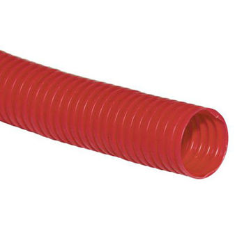 Picture of CORRUGATED PIPE 18/22 RED (ROLL 10M)