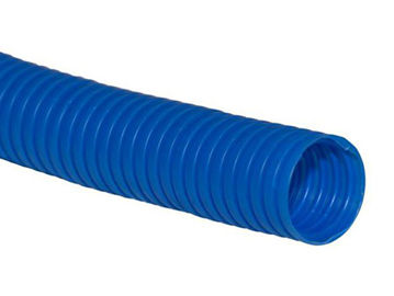 Picture of CORRUGATED PIPE 23/28 BLUE (ROLL 10M)