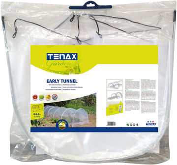 Picture of EXTENSIBLE MINI-GREENHOUSE EARLY TUNNEL 0.6X0.45X3M