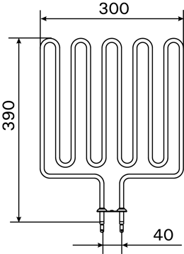 Изображение KÜTTEKEHA 2670W 8KW KERISELE