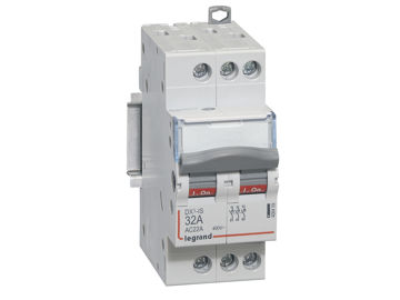 Picture of ISOLATING SWITCH LEGRAND DX3 3P 32A 2M