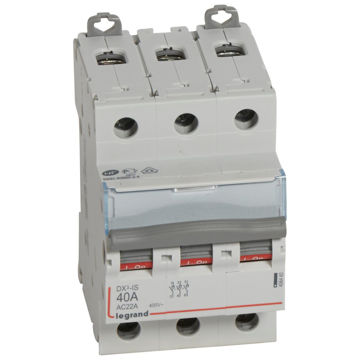 Picture of ISOLATING SWITCH LEGRAND DX3 3P 40A 2M