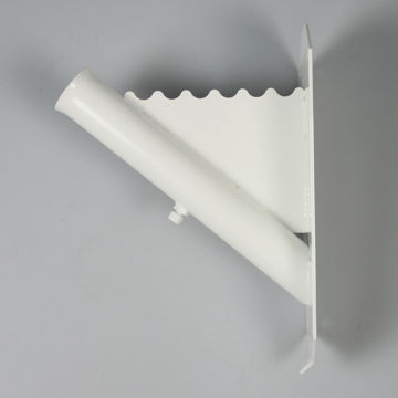 Picture of FLAGPOLE HOLDER PURE WHITE RAL 9010