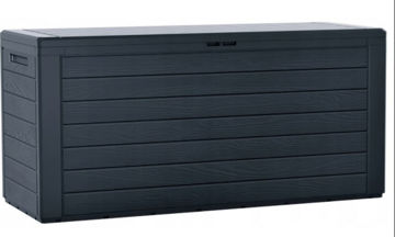 Picture of CHEST WOODEBOX ANTHRACITE 280L
