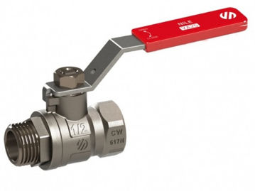 """Picture of BALL VALVE ½"""" MF LEVER HANDLE"""