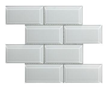 Picture of MOSAIIK 30X30 METRO BEVEL WHITE